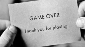the end game over