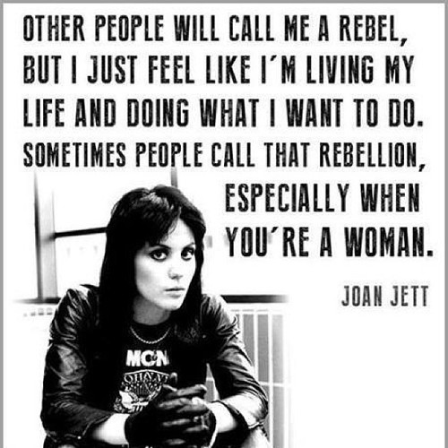 women rebellion Jett