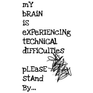 thinking brain technical difficulty