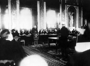 ww1 1919 armistice meeting