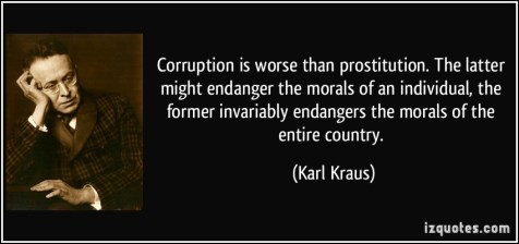corruption prostitution