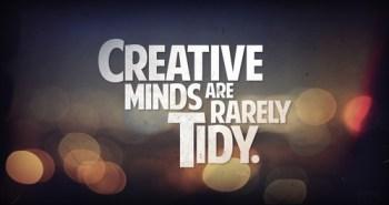creativity not tidy