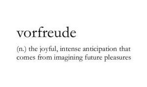 pleasure anticipation