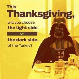 thanksgiving darth