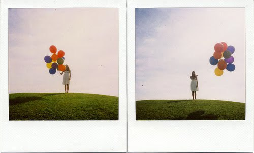hold on let go balloons