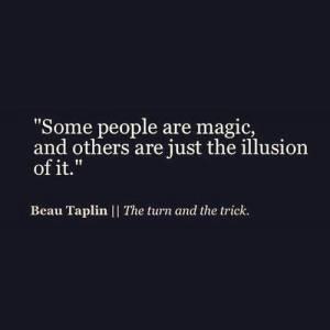 people reading them magic