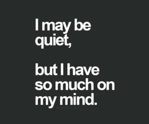 quiet on my mind silence