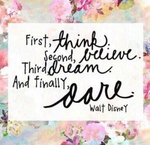 think believe dream