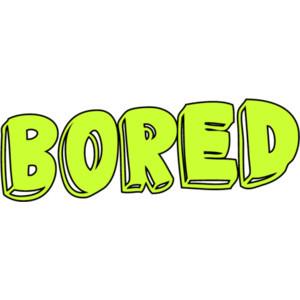 bored type
