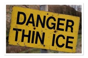 accountable thin ice