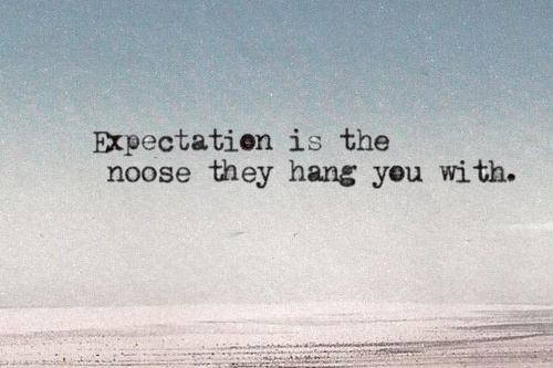expectations noose