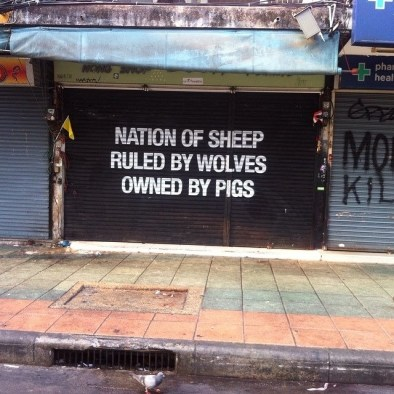 society sheep pigs capitalism