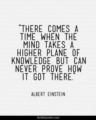 knowledge higher plane