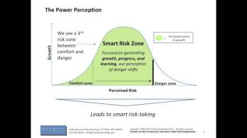 smart risk taking may work