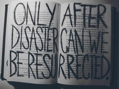 disaster resurrection