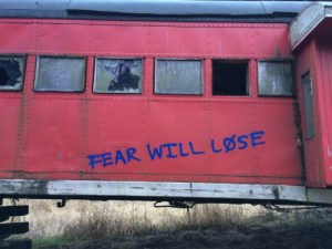 fear will lose terror
