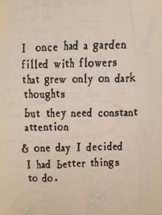 better things to do garden dark
