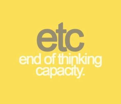 thinking lazy capacity