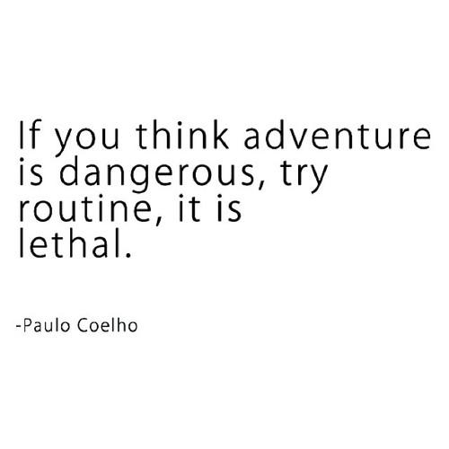 adventure routine change