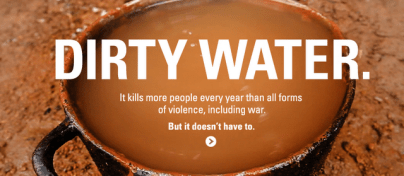 dirty water kills