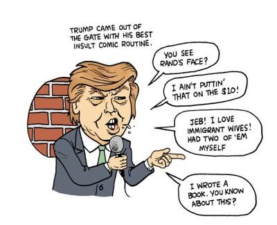trump politics show
