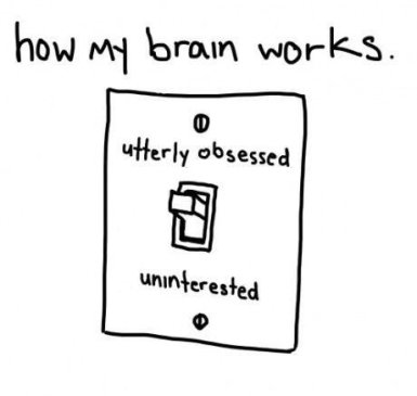 obsessed uninterested switch