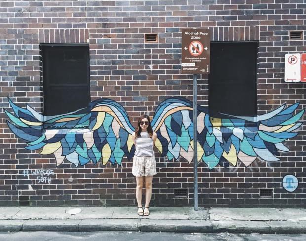 graffiti wings