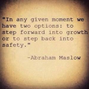 step forward step back safety growth