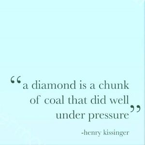 pressure diamond coal life do