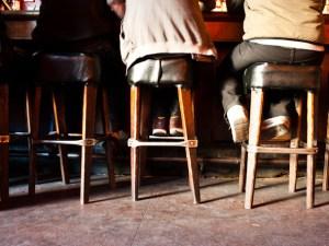 corner of the bar talk friends think
