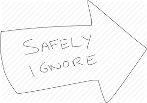 safely-ignore-disregard