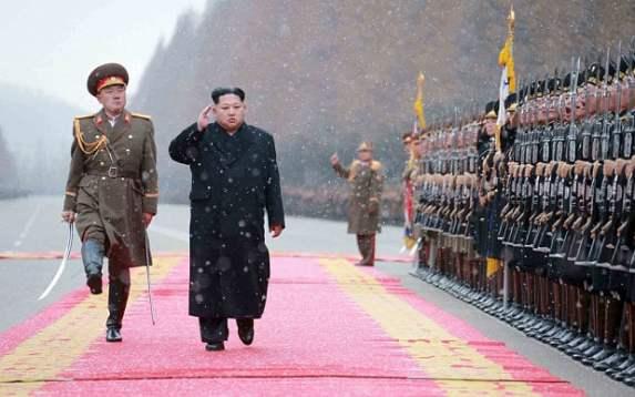North Korean leader military
