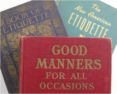 good manners etiquette