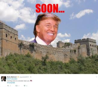 trump great wall