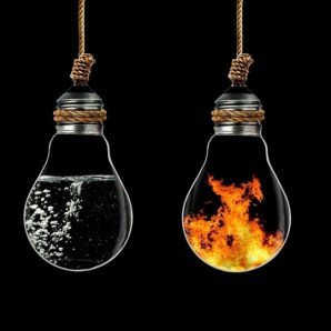 fire water contradiction ideas think