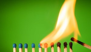 normalizing behavior light matches flame fire danger