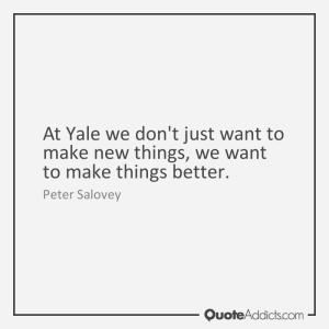 do not make new things make things better