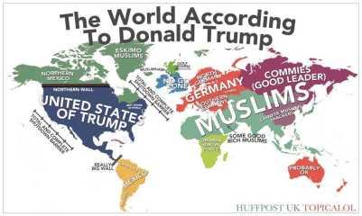 world according to trump wall naive ignorance