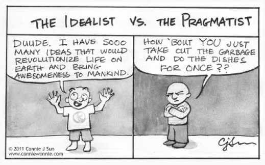 idealism pragmatist doing shit