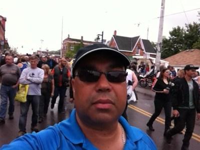 Selfie at Dover