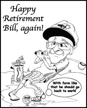 Bill Caricature