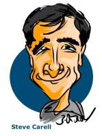 Steve Carell iPad Caricature