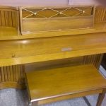 Baldwin Acrosonic Conselette used on sale upright antique piano fallboard closed