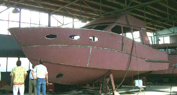 Sport Fisherman Kit Assembly Steel Boat Plans Boat