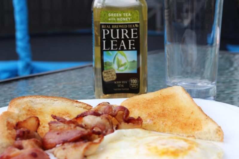 Real Life Breakfast with Pure Leaf