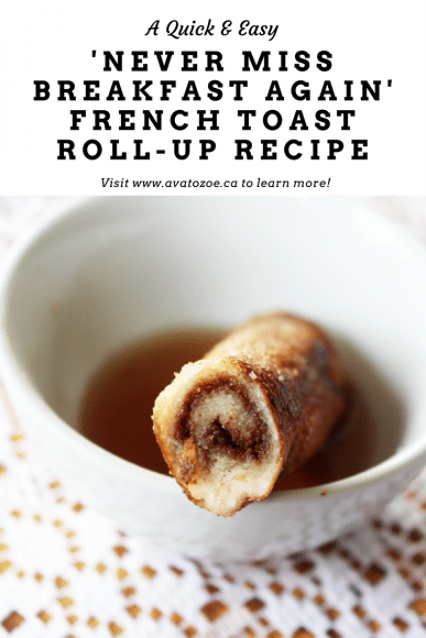 French Toast Roll up Pin