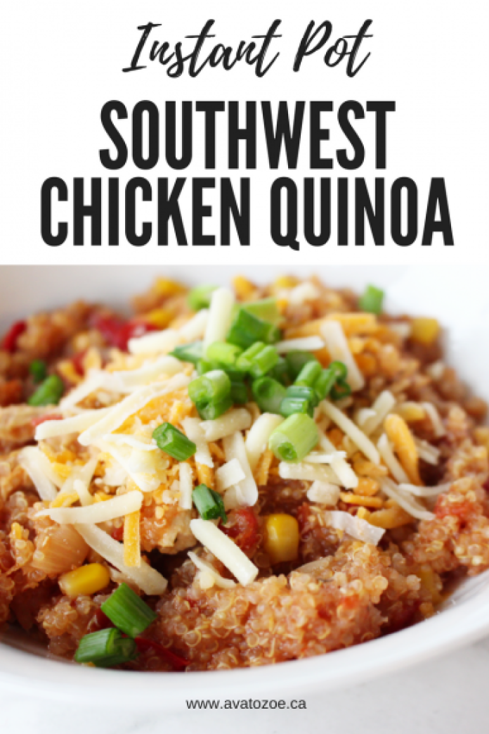 Instant Pot Southwest Chicken Quinoa Recipe