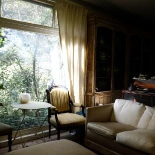 An old room inside Villa Bugatti