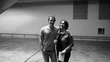 Patrick and Cinzia, always smiling.