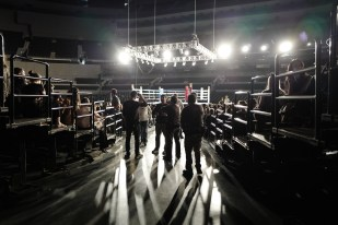 We shot in the biggest Arena in Mexico city...pretty huge!